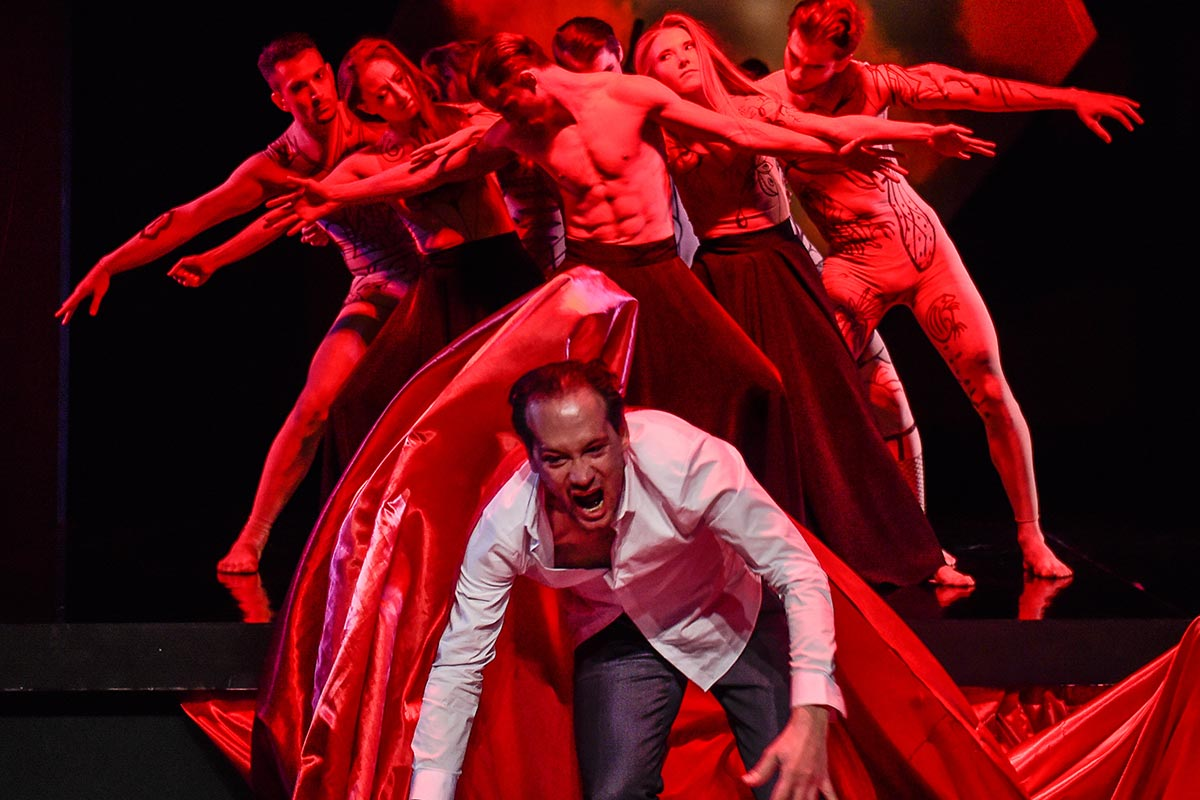 Faust 1 | 2017 | Theater Chemnitz | Foto: Dieter Wuschanski