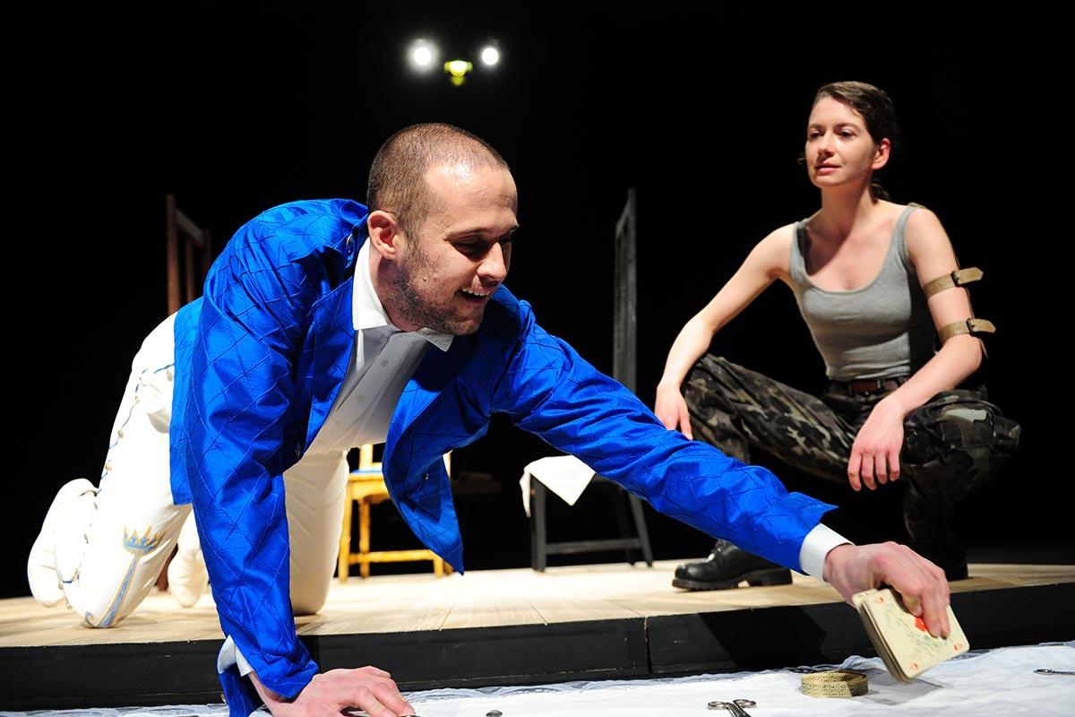 Jeanne oder die Lerche   2015   Theater Chemnitz